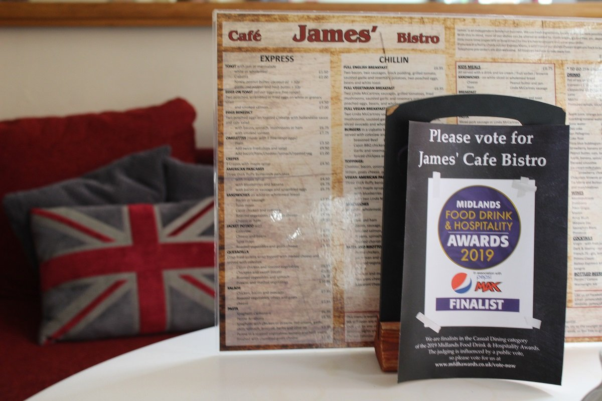Award finalist vote now small business